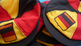 Duitse hoeden Royalty-vrije Stock Foto