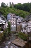 Duitse huizen Royalty-vrije Stock Afbeeldingen