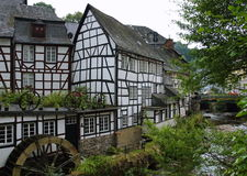 Duitse huizen Royalty-vrije Stock Foto's