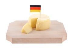 Duitse kaas Stock Afbeeldingen