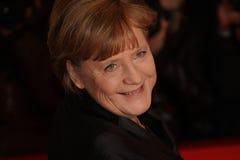 Duitse Kanselier Angela Merkel royalty-vrije stock fotografie