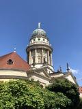 Duitse Kathedraal in Berlin Gendarmenmarkt Stock Fotografie
