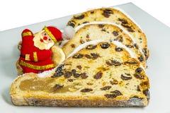 Duitse Kerstmis stollen Royalty-vrije Stock Afbeelding