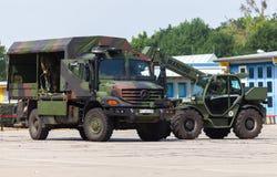 Duitse legervrachtwagen, Mercedes-Benz Zetros Royalty-vrije Stock Fotografie