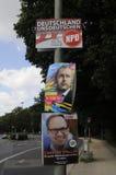 Duitse lokale elections_make sterker Berlijn Royalty-vrije Stock Foto's