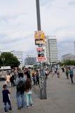 Duitse lokale elections_make sterker Berlijn Stock Foto's