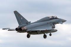 Duitse Luchtmacht Luftwaffe Eurofighter EF-2000 straalvliegtuigen van de Tyfoonvechter Royalty-vrije Stock Foto