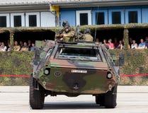 Duitse militaire gepantserde personeelsdrager, Fuchs Royalty-vrije Stock Foto
