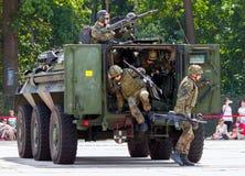 Duitse militaire gepantserde personeelsdrager, Fuchs Royalty-vrije Stock Fotografie