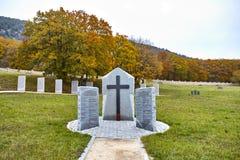 Duitse militaire graven stock fotografie