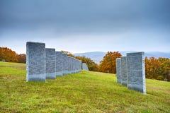 Duitse militaire graven royalty-vrije stock afbeeldingen