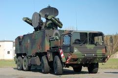 Duitse Militaire Vrachtwagen stock afbeeldingen