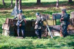 Duitse Militairen Royalty-vrije Stock Afbeeldingen