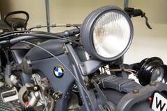 Duitse motorfiets BMW R11 van jaar 1932 Stock Foto's