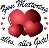 (Duitse) Muttertag Royalty-vrije Stock Afbeeldingen