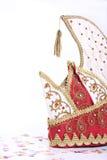 Duitse narrenhoed en confettien Royalty-vrije Stock Foto