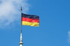 Duitse nationale vlag royalty-vrije stock afbeeldingen
