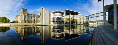 Duitse overheidsgebouwen in Berlijn Royalty-vrije Stock Afbeeldingen