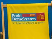 Duitse politieke partij FDP royalty-vrije stock foto