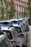 Duitse politiewagens Royalty-vrije Stock Foto's