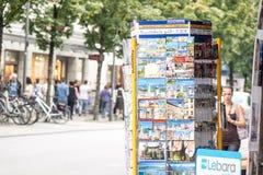 Duitse prentbriefkaartribune Royalty-vrije Stock Afbeeldingen