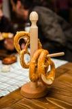 Duitse pretzels Royalty-vrije Stock Foto's