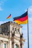 Duitse Reichstag in Berlijn, Duitsland Stock Fotografie