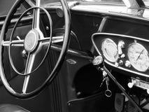Duitse sportwagencockpit Royalty-vrije Stock Foto's