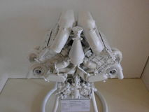 Duitse sportwagenmotor Royalty-vrije Stock Foto
