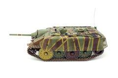 Duitse tank e-10 schaalmodel stock fotografie