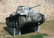 Duitse Tank PzKpfw II Stock Fotografie