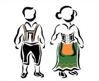 Duitse traditioneel Royalty-vrije Stock Foto's