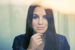 Duitse TV-Gastheer Moderatorin Julia Bauer royalty-vrije stock foto's
