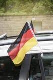 Duitse Vlaggen Royalty-vrije Stock Fotografie