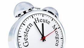 Duitse wekker Royalty-vrije Stock Afbeeldingen
