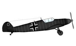 Duitse WW2 vechter vector illustratie