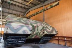 Duitse zware tank Panzer VIII Muis stock fotografie