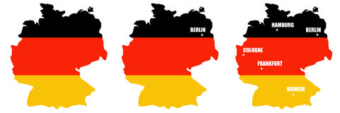 Duitsland stock illustratie