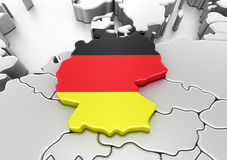 Duitsland Stock Fotografie