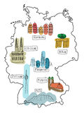 Duitsland Royalty-vrije Stock Foto's