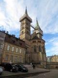 Duitsland, Beieren, de stad van Bamberg De Kathedraal van Bamberg van St Peter en St George royalty-vrije stock foto's