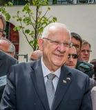 DUITSLAND, BERLIJN, 12 MEI 2015 - Reuven Rubi Rivlin Israels-voorzitter Stock Fotografie