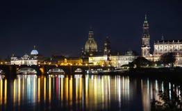 Duitsland bij nacht Royalty-vrije Stock Foto's