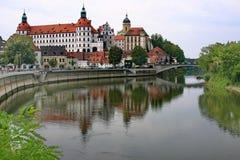 Duitsland. Kasteel. Stock Afbeeldingen