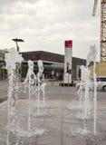 DUITSLAND - 30 mei, 2012: afzetstad Metzingen- het centrum van verkoop dichtbij München Royalty-vrije Stock Fotografie