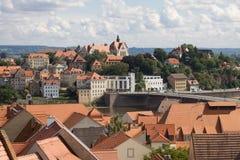 Duitsland, Meissen-cityscape Royalty-vrije Stock Afbeelding