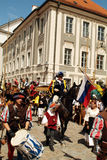 Duitsland, middeleeuws festival stock foto's
