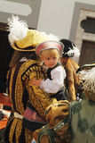 Duitsland, middeleeuws festival royalty-vrije stock foto's