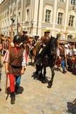 Duitsland, middeleeuws festival stock afbeelding