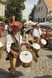 Duitsland, middeleeuws festival royalty-vrije stock foto